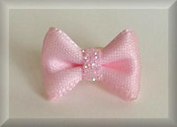 dolly dog kleine hunde haarschleife rosa